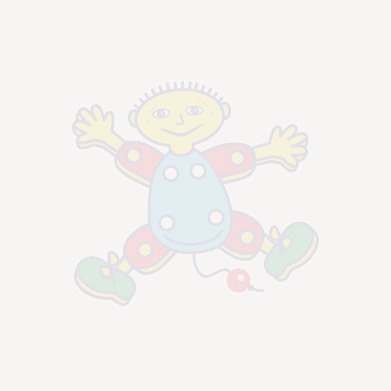 Folie ballong Gull 46 cm - Stjerne