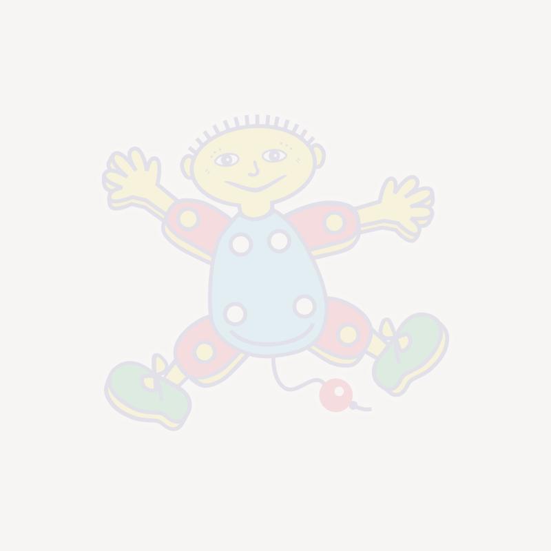 Baby Born kjole - Lilla m/kanin